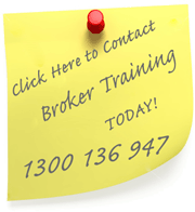 Contact Mortgage Broker Training on 1300 136 947